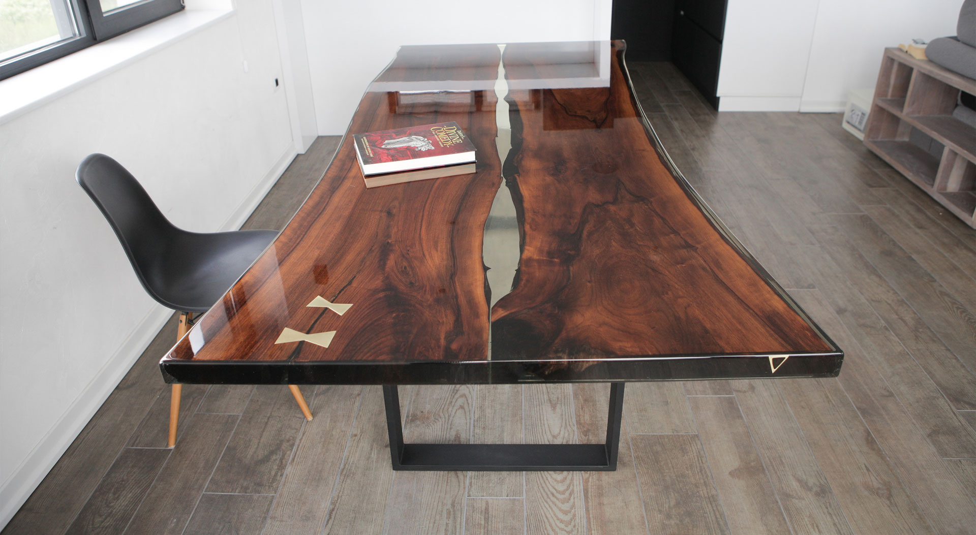 epoxy resin tables nabla furniture. Black Bedroom Furniture Sets. Home Design Ideas