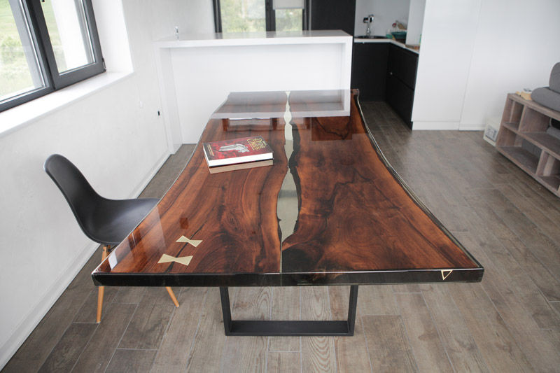 Split Epoxy Table Nabla Furniture
