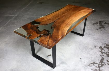Epoxy Resin Tables Handcrafted Amp Unique Wooden Tables
