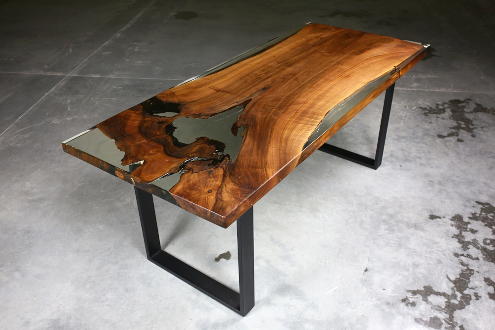 Epoxy Resin Tables Handcrafted Unique Wooden